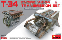 T-34 ENGINE V-2-34 & TRASMISSION SET - Image 1