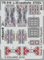 L-39 seatbelts STEEL   EDUARD/SPECIAL HOBBY - Image 1