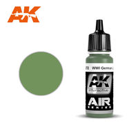 AK 2272 WWI German Light Green