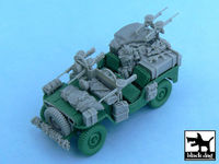 British SAS Jeep Europe 1944 for Tamiya 32552, 52 resin parts