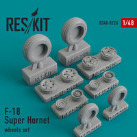 F-18 Super Hornet wheels set - Image 1