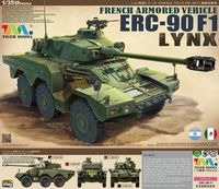 French Armored Vehicle ERC-90F1 Lynx