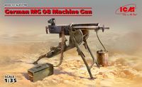 German MG08 Machine Gun - Image 1
