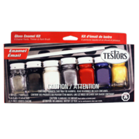 9115 Gloss Enamel 7-bottle Paint Kit