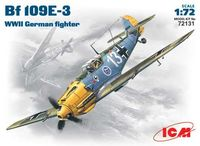 Bf109E-3 WWII German fighter - Image 1