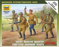 Soviet Regular Infantry 1941-1942