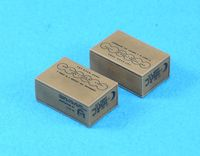 WWII C Ration Box set (Late/8ea, Incl Decal) - Image 1