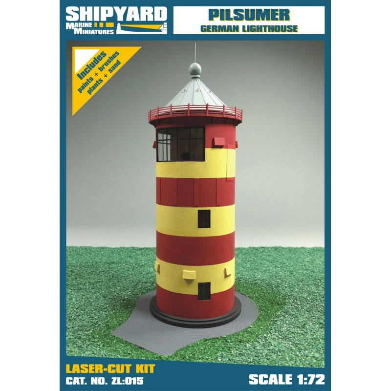 Pilsumer Lighthouse skala 1:72 - Image 1