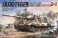 Jagdtiger Sd.Kfz.186 Early / Late Production, 2 in 1 - Image 1