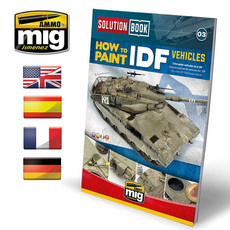 SOLUTION BOOK HOW TO PAINT IDF VEHICLES [Multilingual] - Image 1