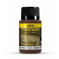 73811 Thick Mud -  Brown Mud