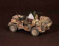 Crew of the Jeep SAS. North Africa.1941-42 #2 2 figures