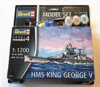 HMS King George V Model Set