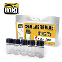 SPARE JARS FOR MIXES 5 x 35 ml