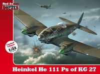 1/32 Heinkel He 111 Ps of KG 27 (kalkomanie)
