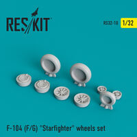 "F-104 (F/G) ""Starfighter"" wheels set - Image 1"