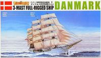3-Mast Full-Rigged Ship Danmark