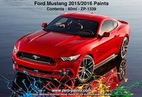1339 2015 Ford Mustang RACE RED