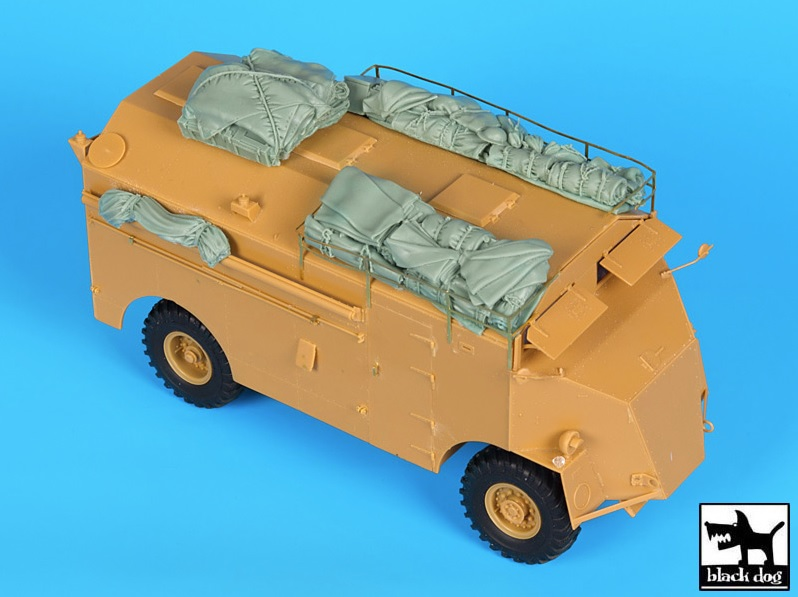 AEC Dorchester accessories set for AFV - Image 1