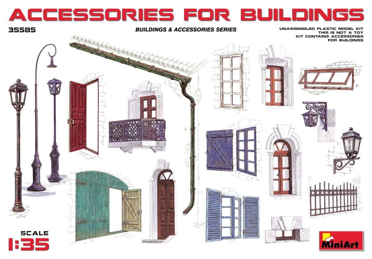 Accessories for buildings - Image 1