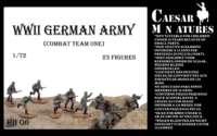 WWII Germans Army Combat Team One