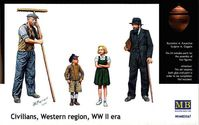 CIVILIANS,WESTERN REGION WWII era