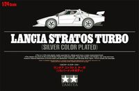 Lancia Stratos Turbo Silver Color Plated