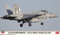 "F/A-18E Super Hornet ""VFA-27 Royal MACES CAG 2017"" - Image 1"