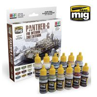 A.MIG 7174 PANTHER-G Colors Set for Interior and Exterior Set