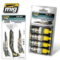 A.MIG 7206 Air Set - Argentinian Colors VOL. 1 - acrylic color for brush and airbrush