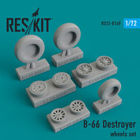 B-66 Destroyer wheels set