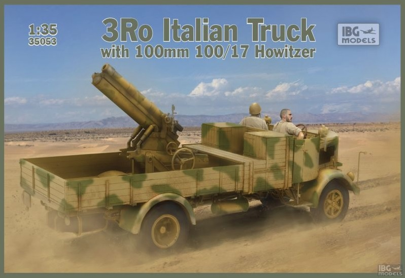 3Ro Italian Truck with 100 mm 100/17 Howitzer - Image 1