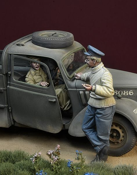 """War Flirtation"" Battle of Britain 1940 3 figures set - Image 1"