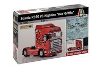 Scania R560 V8 HighlineRed Griffin