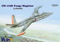 Fouga CM.170R Magister (Luftwaffe) French training jet aircraft in German marking - Image 1