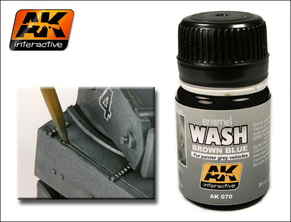AK 070 WASH FOR PANZER GREY - Image 1