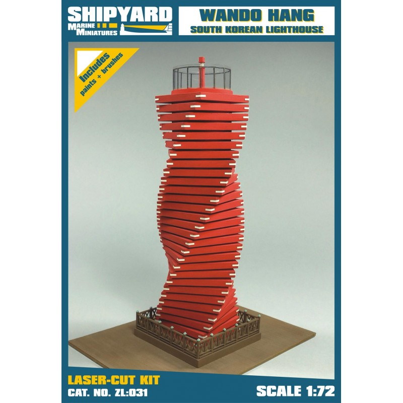 Wando Hang Lighthouse skala 1:72 - Image 1