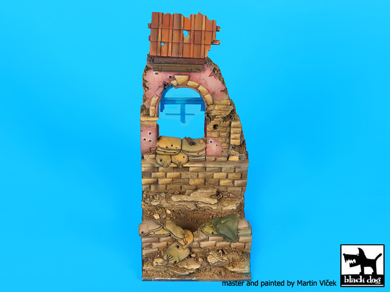 House ruin Italy 1944 base (75x75 mm) - Image 1