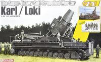 The Super-Heavy Self-Propelled Mortar Karl / Loki w/German Artillery Crew