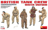 BRITISH TANK CREW. WINTER UNIFORM