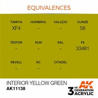 AK 11138 Interior Yellow Green