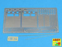 "Rear fenders for Tiger I, Ausf.E €"" (Late version) - - Image 1"