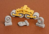 40/43M Zrinyi assault gun roadwheels