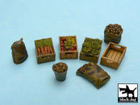 Food supplies #1 accessories set 32 resin parts - Image 1