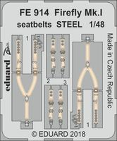 Firefly Mk.I seatbelts STEEL  TRUMPETER - Image 1