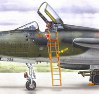 Ladder for F-105B/C