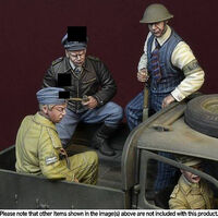 """Under guard"" Battle of Britain 1940 3 figures set - Image 1"