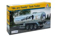 "CLASSIC TANK TRAILER ""We are family"""