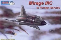 Dassault Mirage IIIC in foreign service. Decals Israel South Africa Switzerland - Image 1