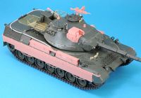 Leopard 1A5BE Conversion set (for Meng 015)